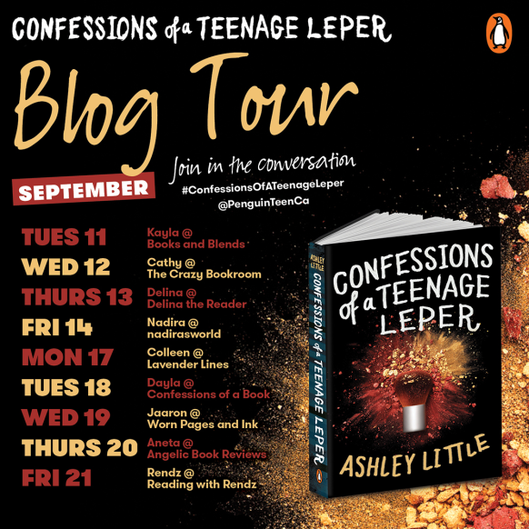 Confessions of a Teenage Leper blog tour