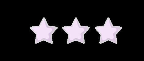 3 Star Rating purple