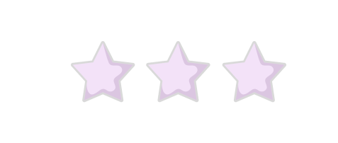 3 Star Rating purple
