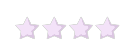 4 Star Rating purple