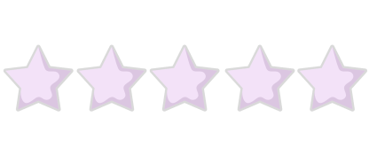 5 Star Rating purple